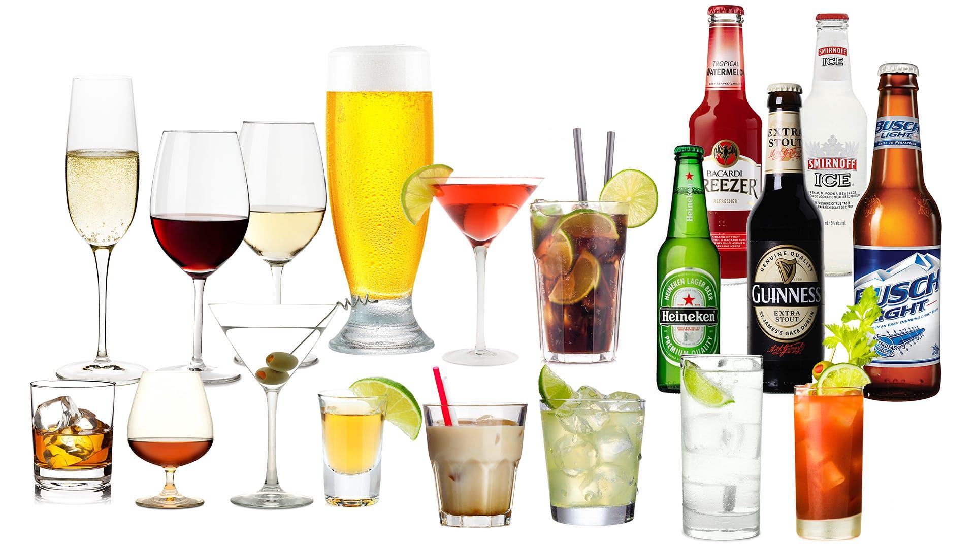 Bebidas alcohólicas bajas en carbohidratos