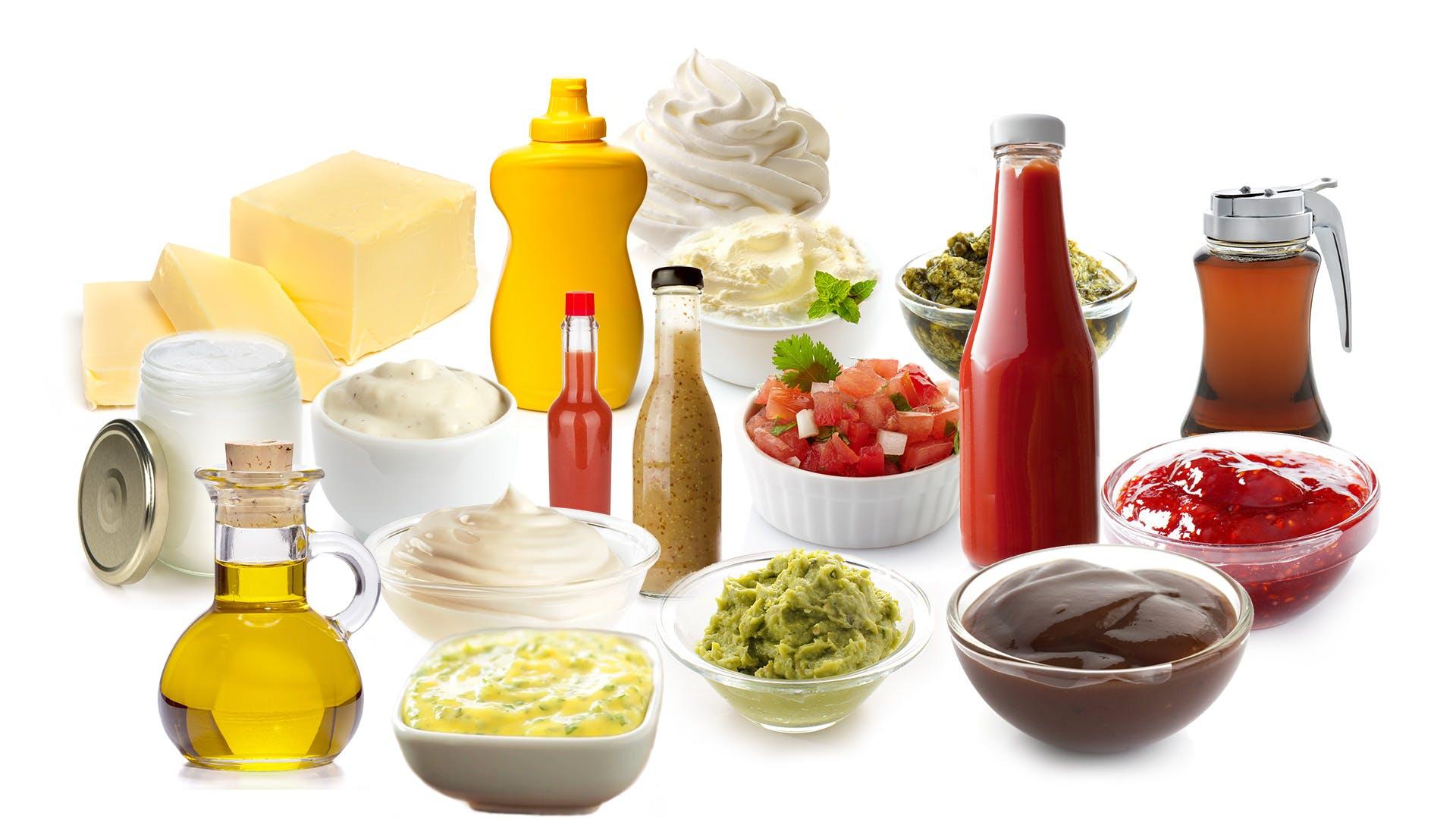 Guía grasas y salsas