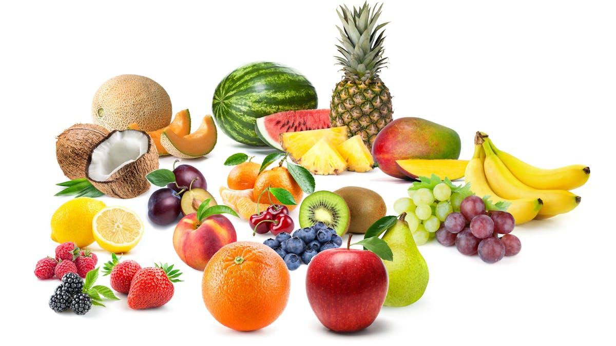 Guía frutas