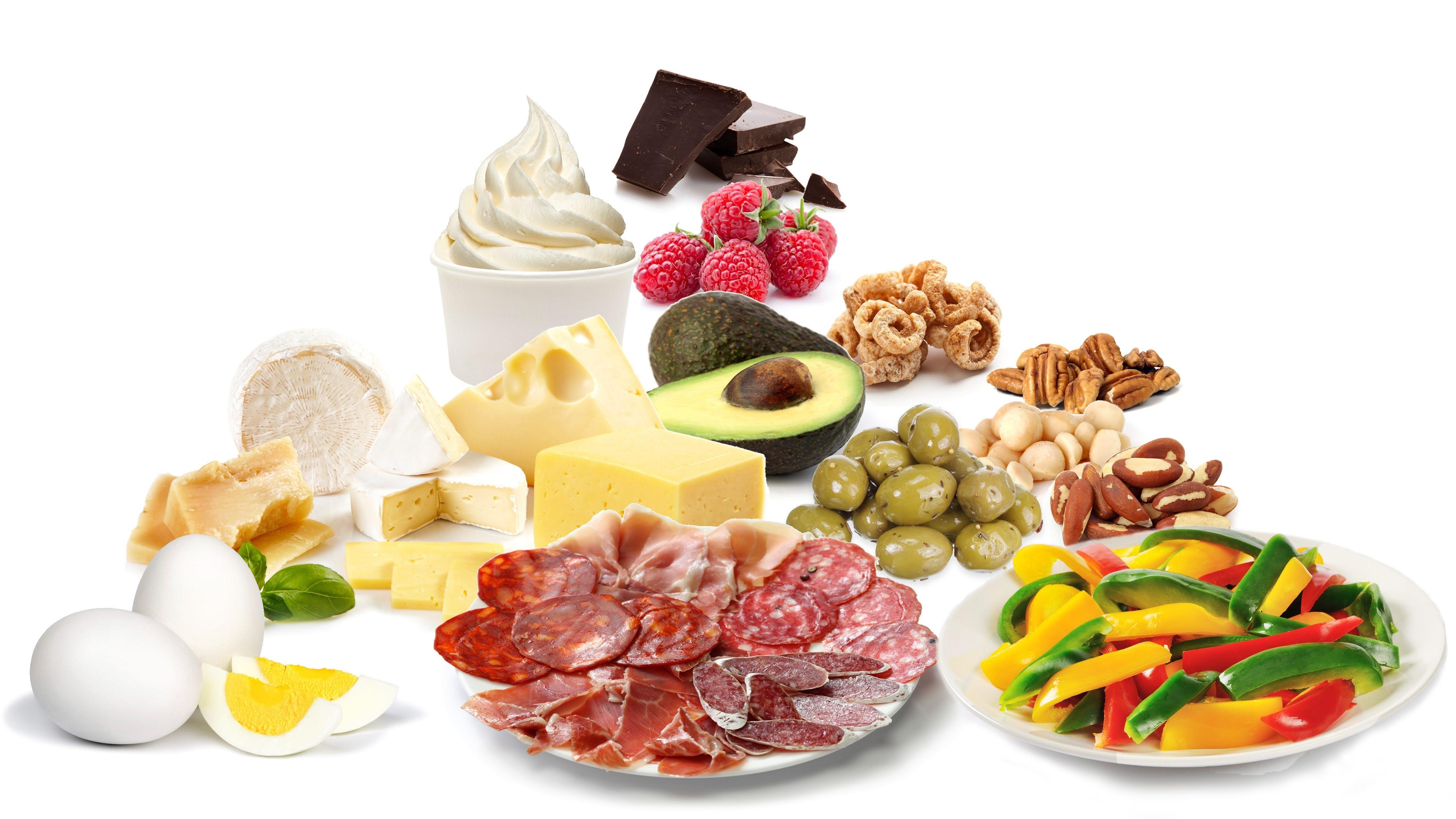 Guía refrigerios bajos en carbohidratos