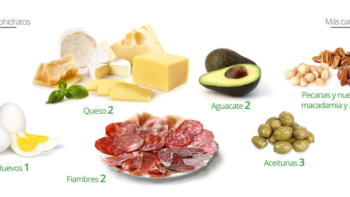 Los mejores snacks bajos en carbohidratos