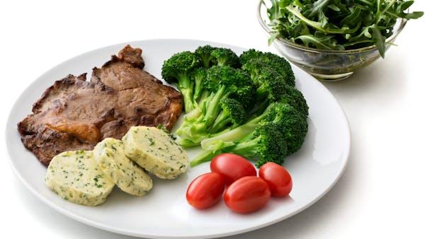 ejemplo de menú keto para un día