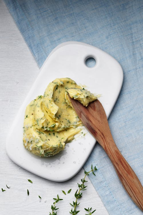 Mantequilla de hierbas keto