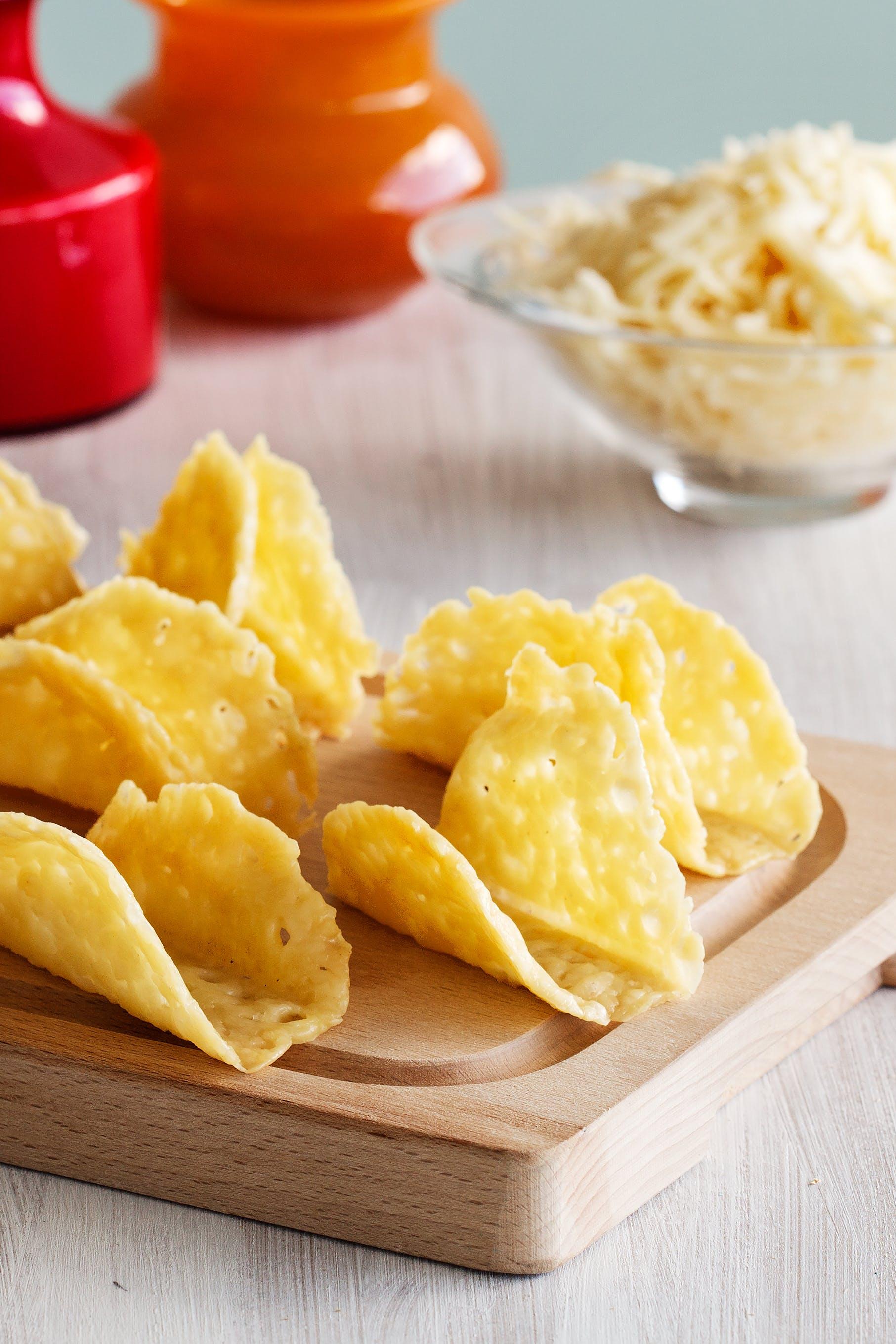 Tortillas crocantes de tacos keto