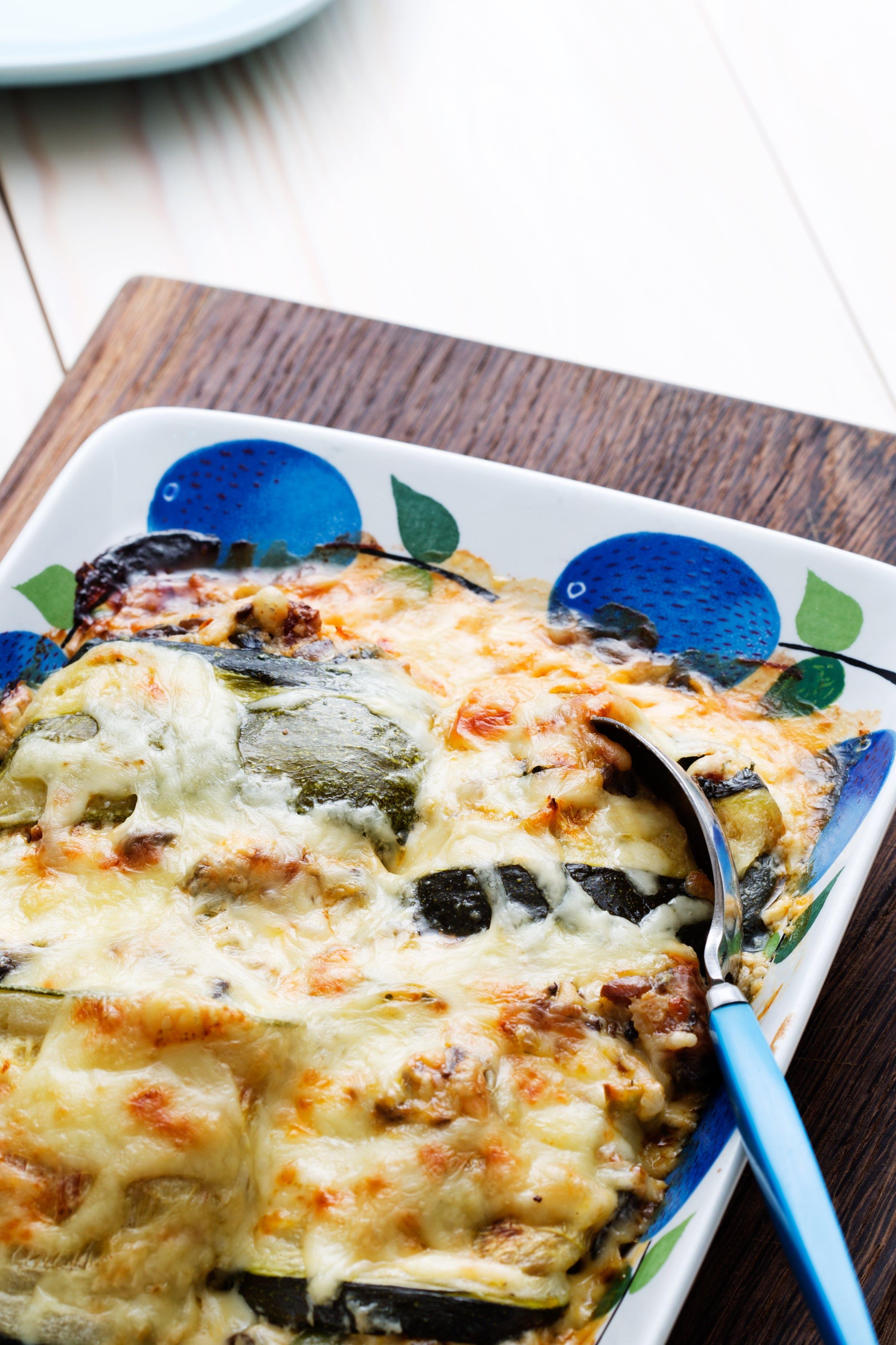 Rollos de calabacín con chorizo<br />(Almuerzo)