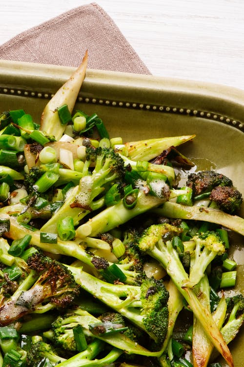 Brócoli frito en mantequilla low carb