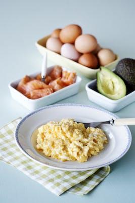 Huevos revueltos<br />(Desayuno)