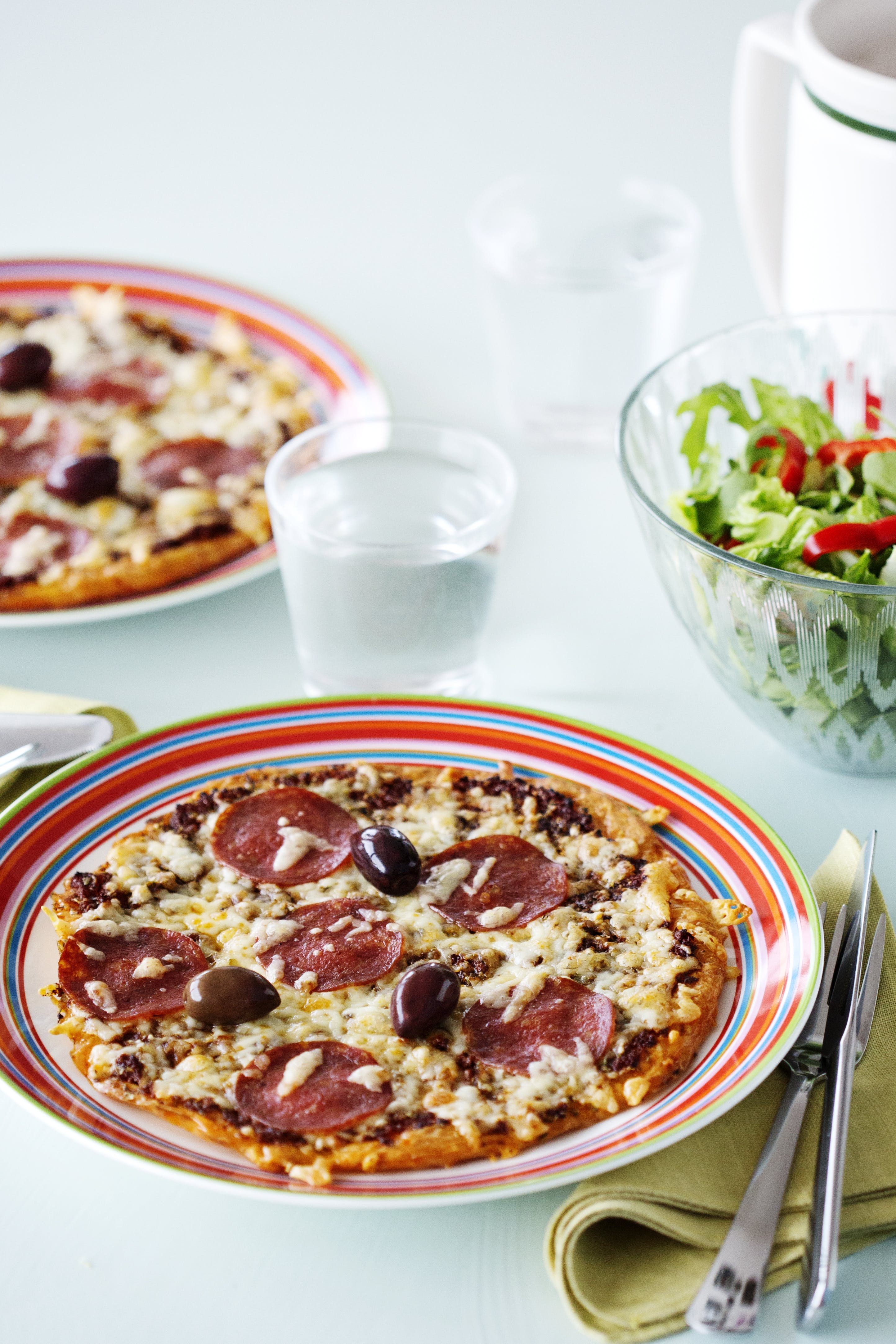 Pizza cetogénica