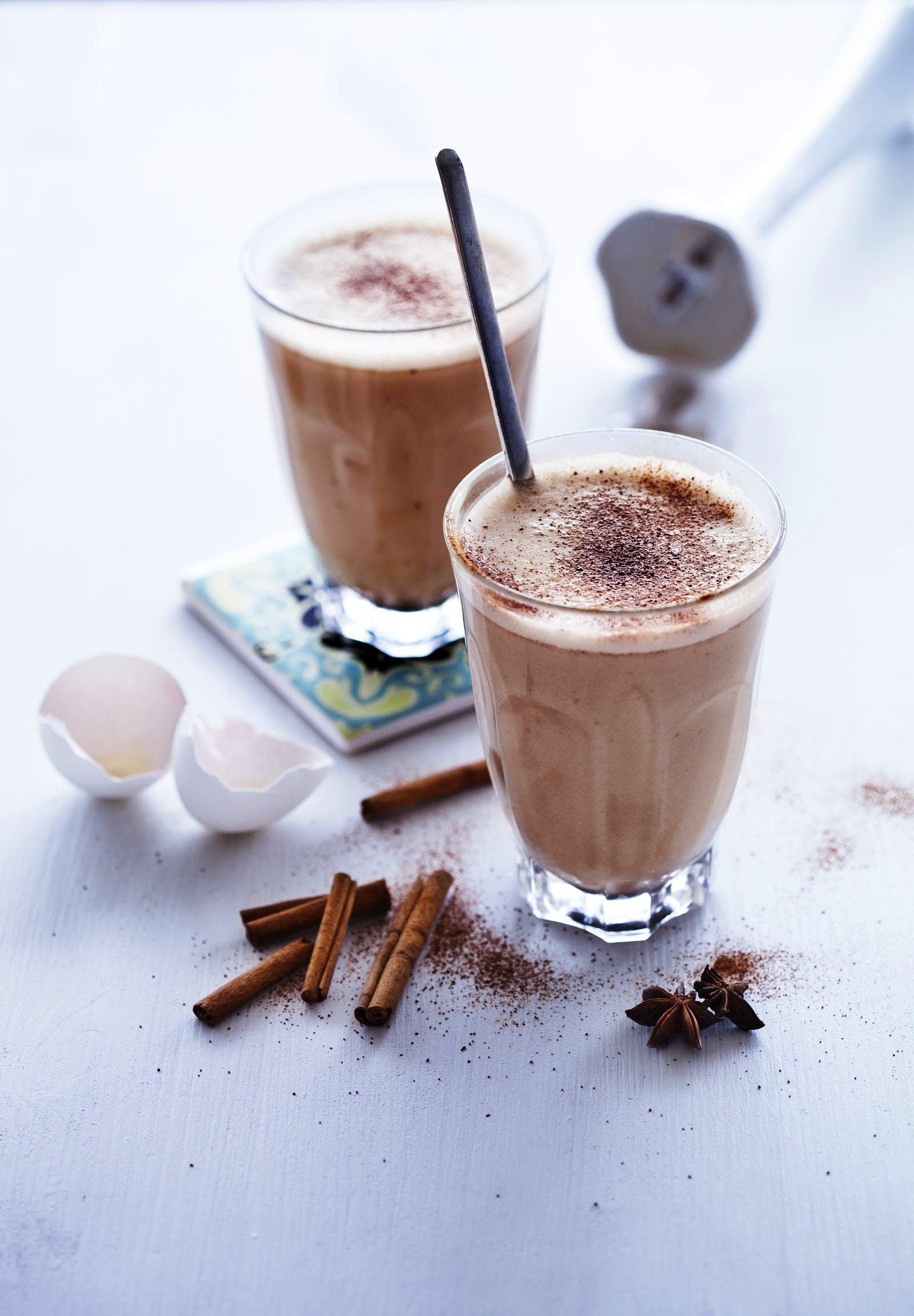 Café con leche sin lácteos