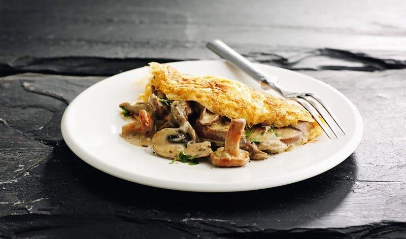 Skaldeman omelet