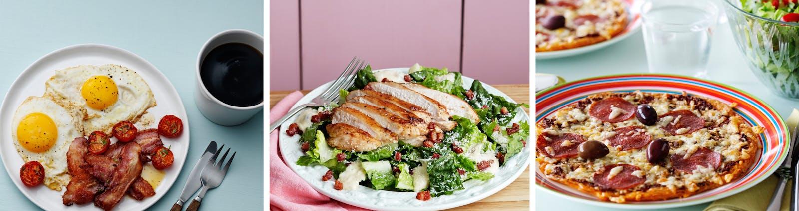 Planes alimenticios de 1600 calorías para la diabetes