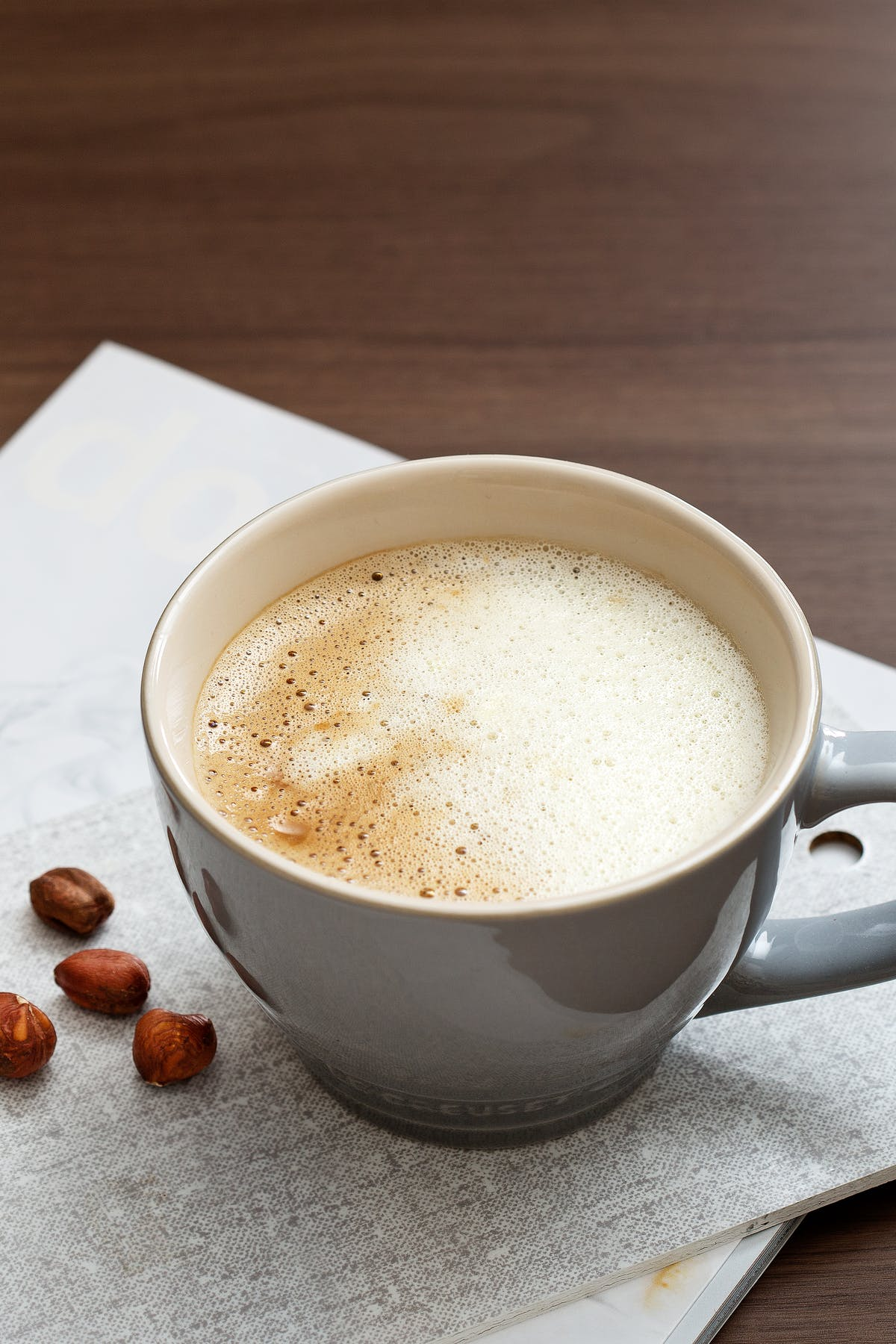 Café con crema cetogénico