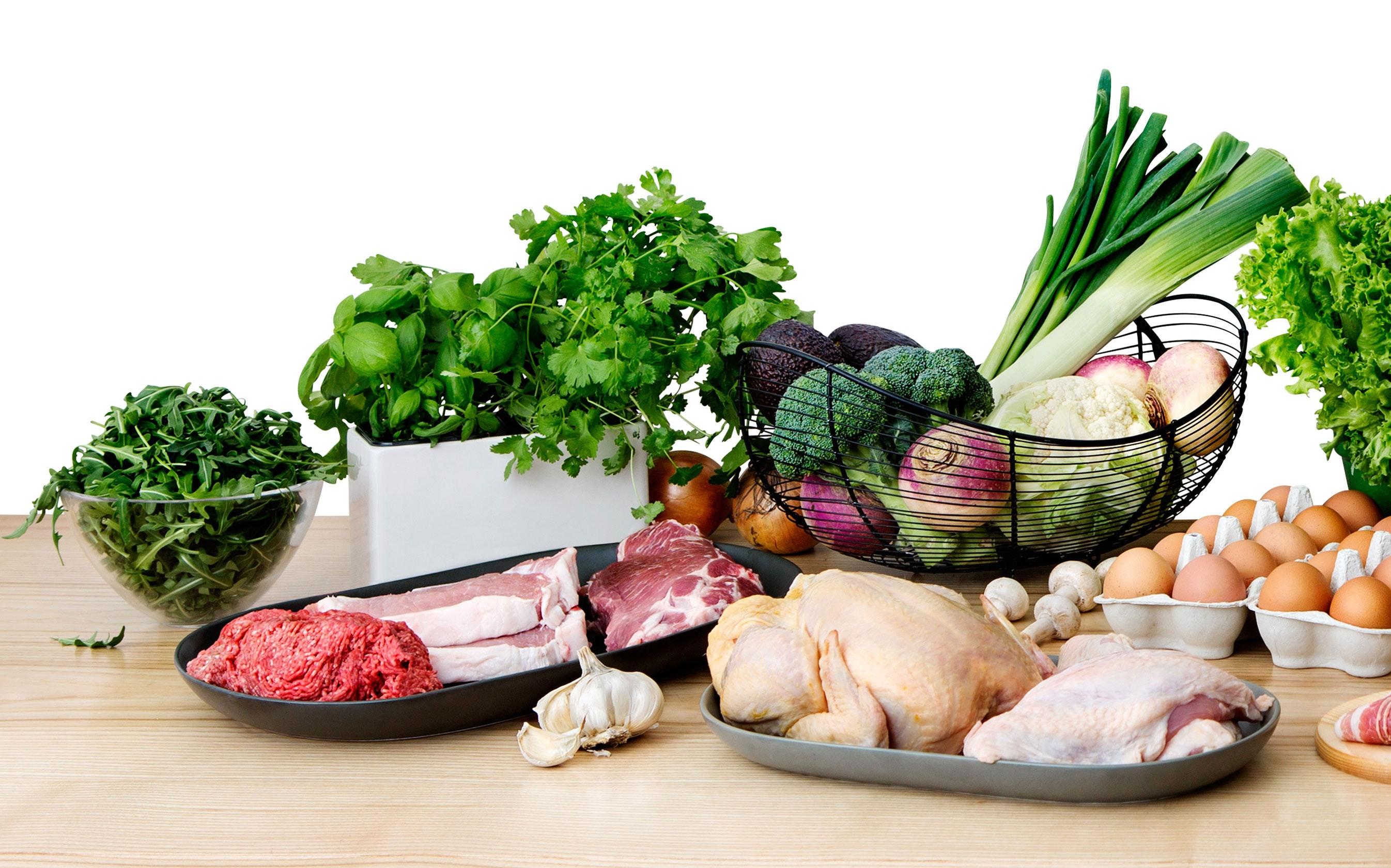 Adelgazar comiendo verduras asadas