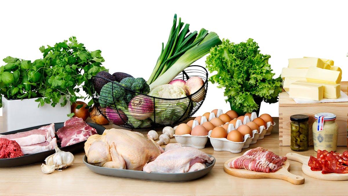 Lista de alimentos keto