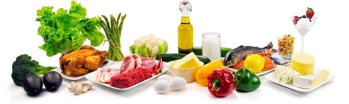 Alimentos auténticos low carb