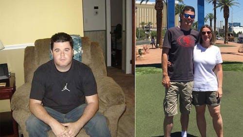 Manteniendo una pérdida de 45 kg (100 lb) durante 7 años