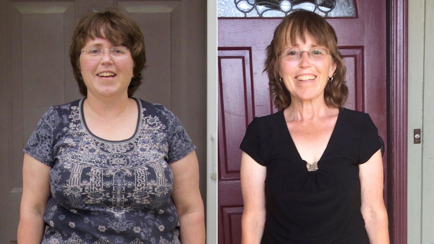 Manteniendo una pérdida de 31 kg durante 5 años