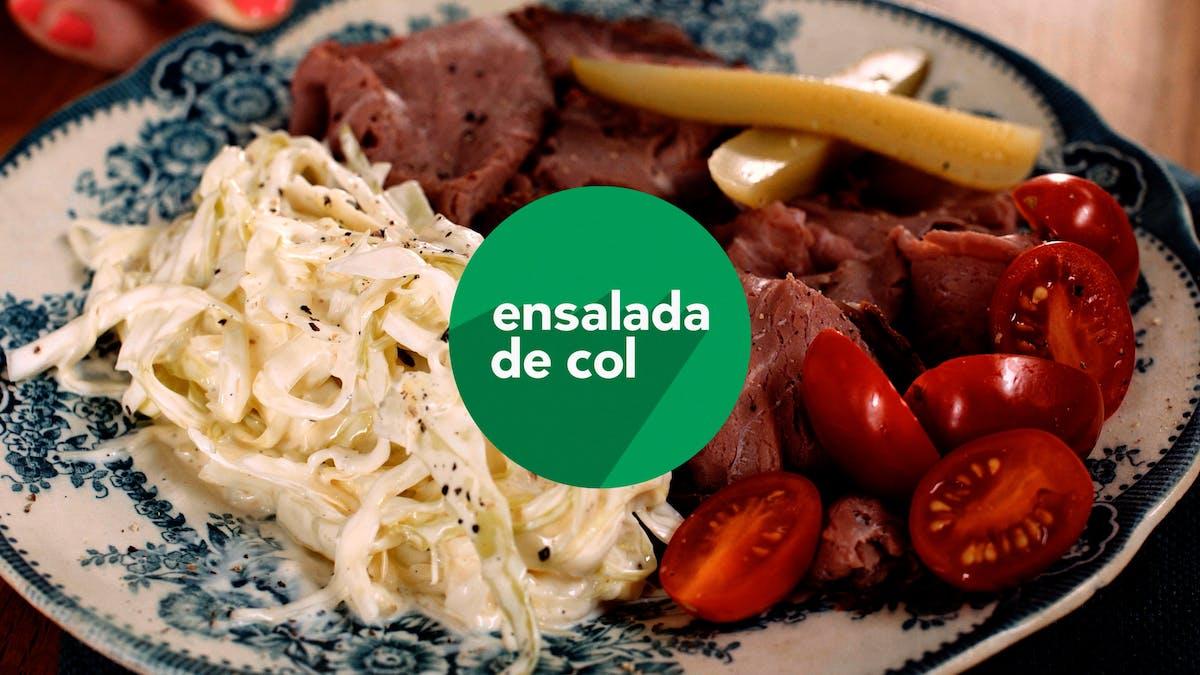 Nuevo video: Ensalada de col en un instante