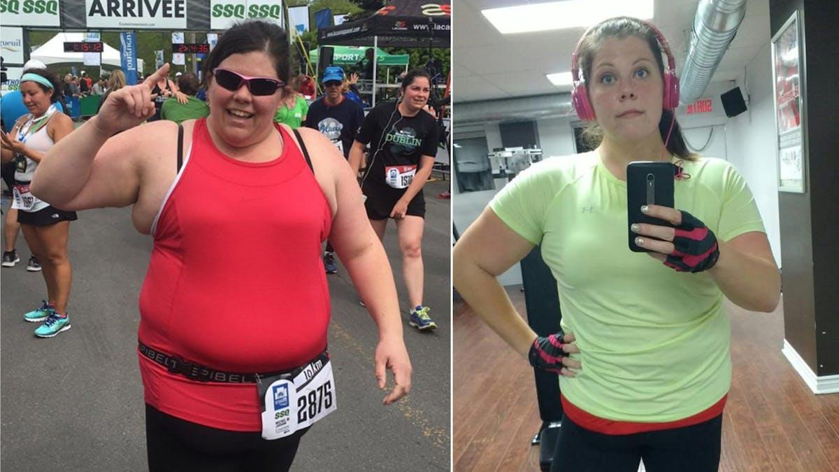 Intentando perder peso<br>desde los 9 años