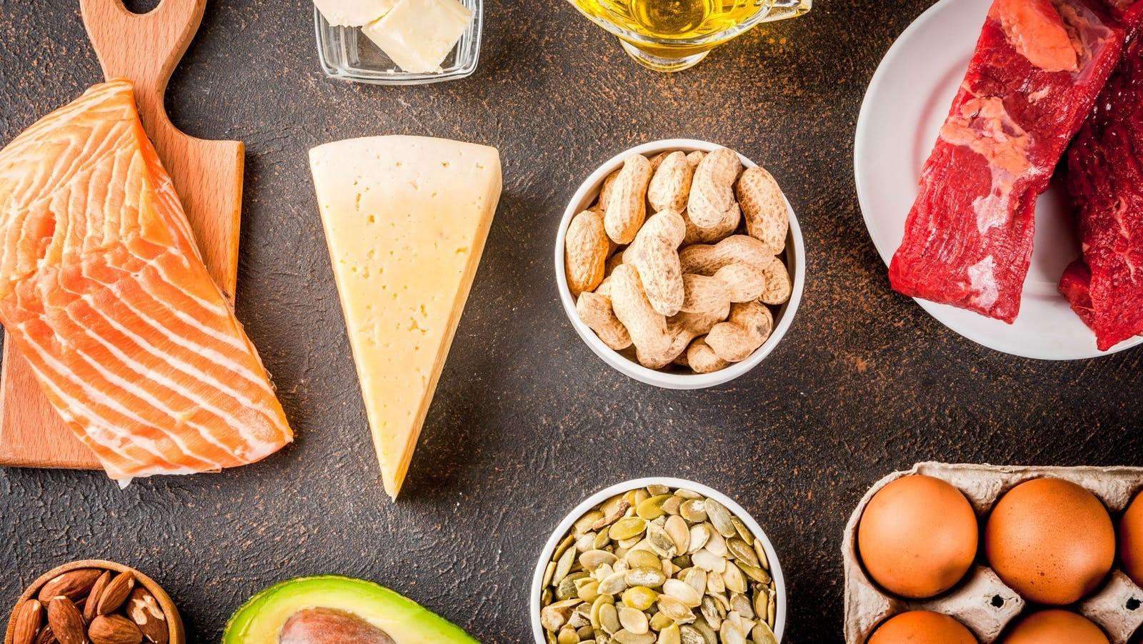 Permitidos primer dieta cetogenica tramo alimentos