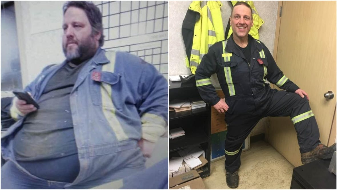 """Hombre que perdió más de 140 kg con una dieta baja en carbohidratos dice """"Si yo puedo hacerlo, cualquiera puede"""""""