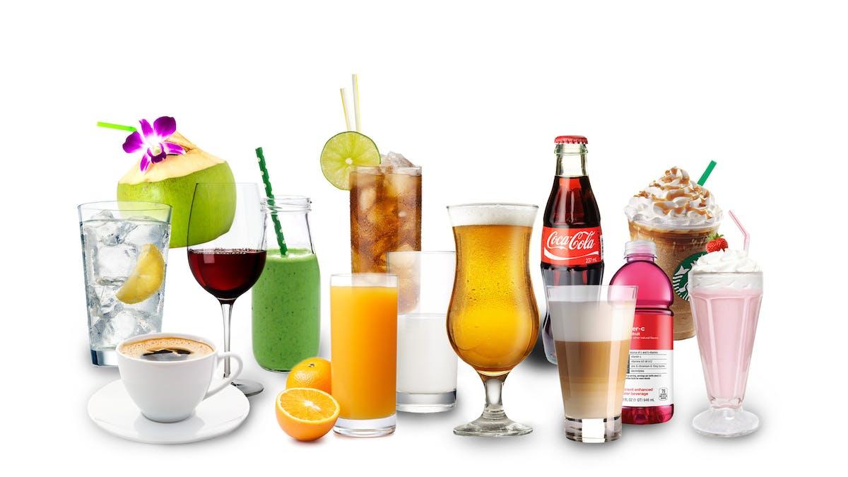 Las mejores y las peores bebidas bajas en carbohidratos