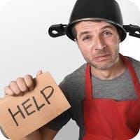 Hombre para ayudar