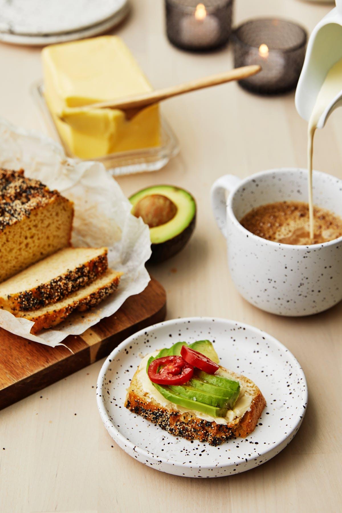 Pan rápido bajo en carbohidratos