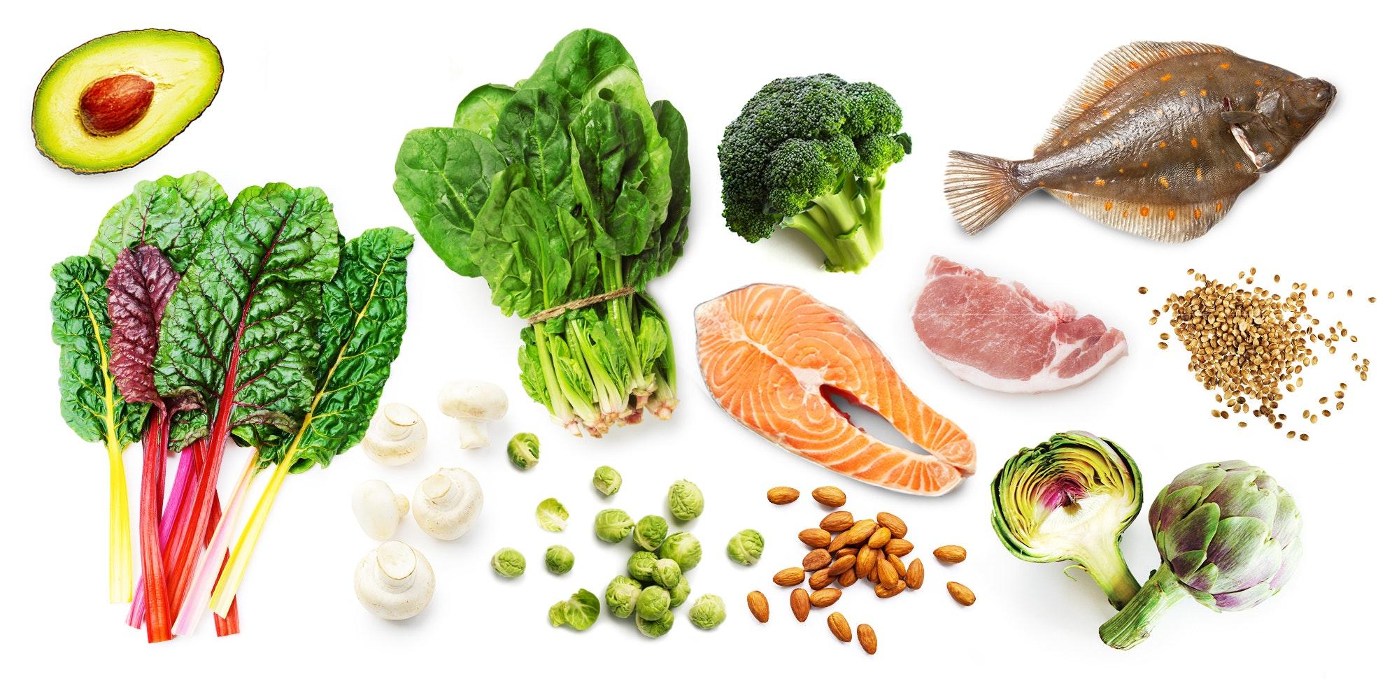Que alimentos contienen potasio y magnesio