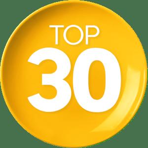 Top 30 comidas