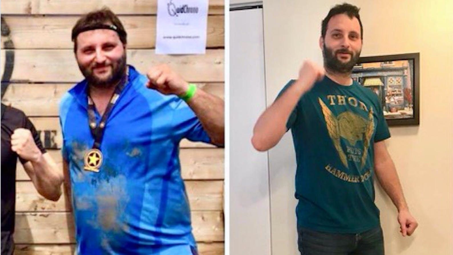 """La dieta cetogénica: """"Pasé de 139 kg a 102 kg y me siento genial"""""""
