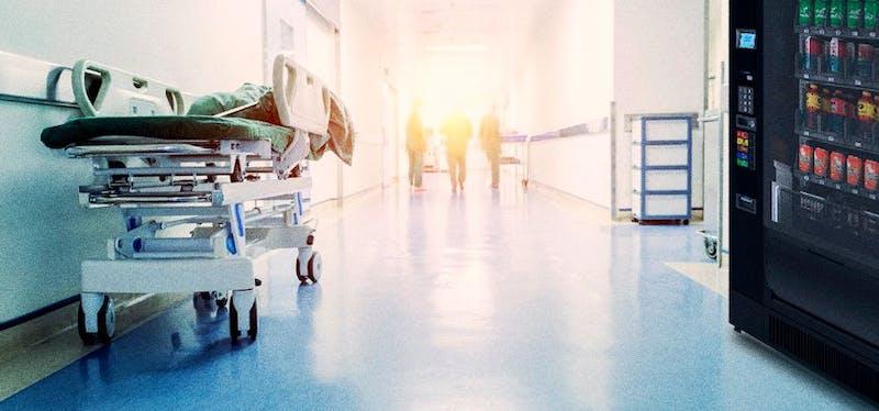 Máquina de gaseosasen hospital