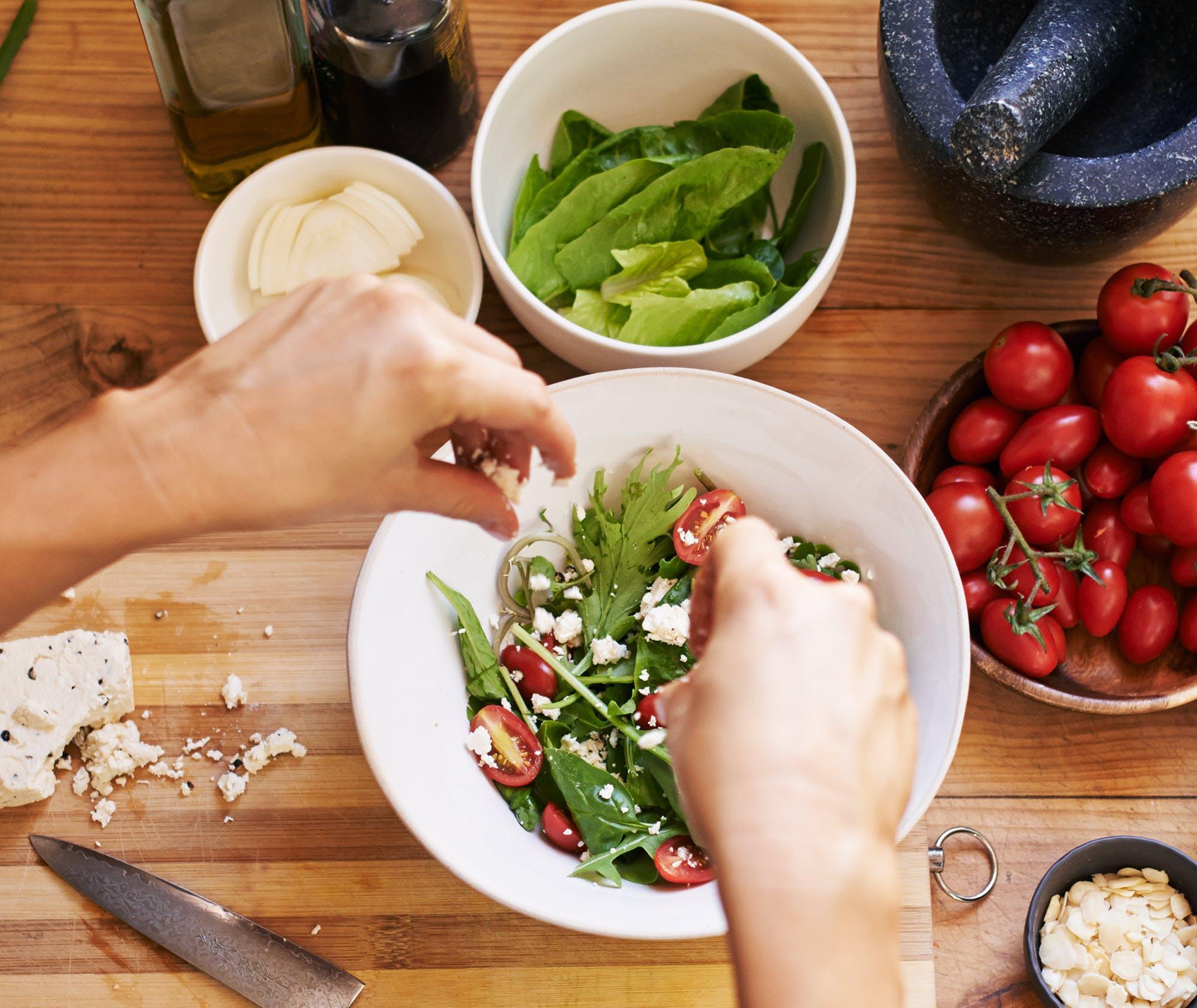 Anexo: una dieta keto vegetariana saludable
