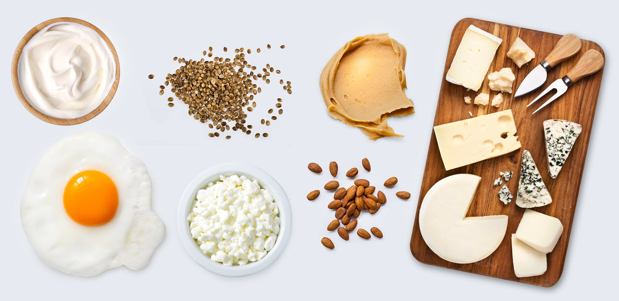 Fuentes de proteínas keto vegetarianas