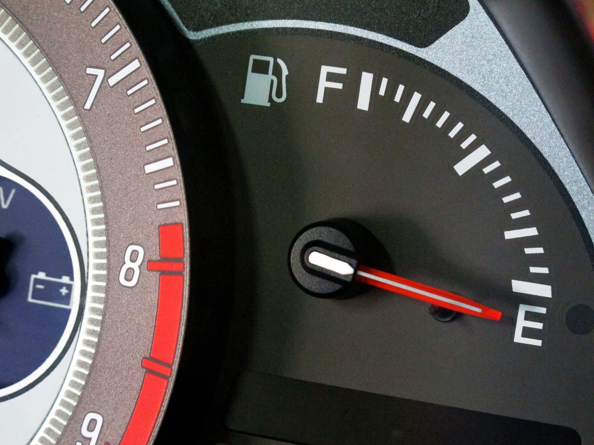 Indicador gasolina