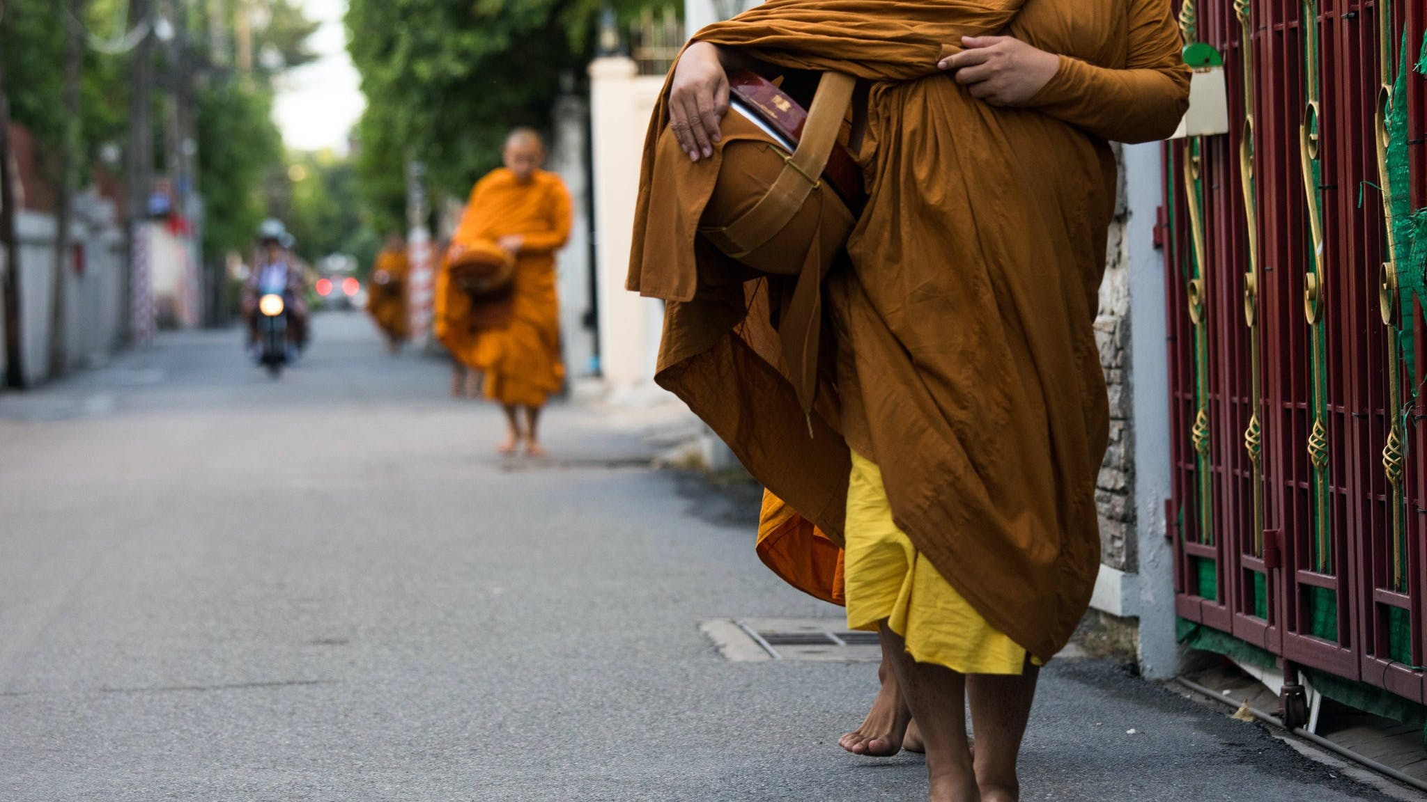 ¿Por qué hay una epidemia de obesidad entre los monjes tailandeses?