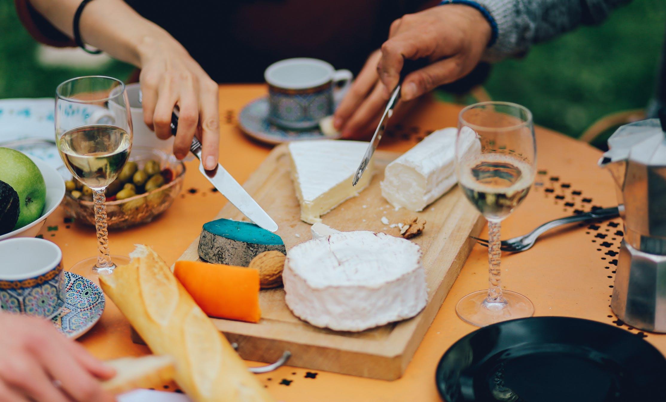 Cena con queso