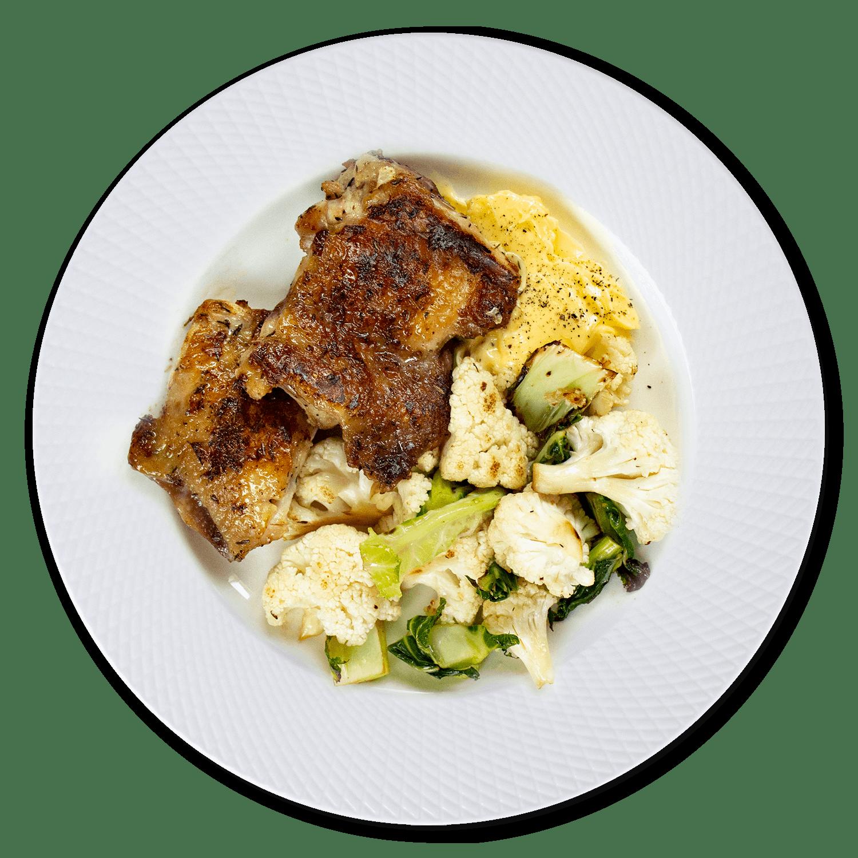 130 gramos proteína - cena