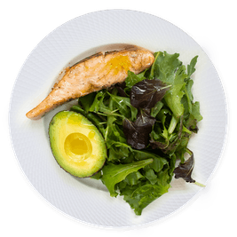 130 gramos proteína - almuerzo