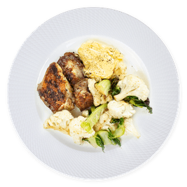 70 gramos proteína - almuerzo