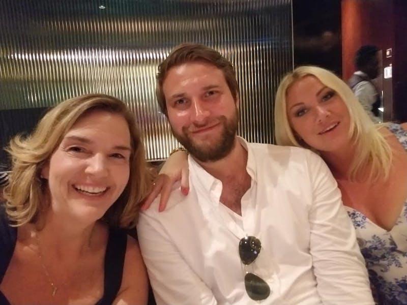 Kristie, Rickard y Jill