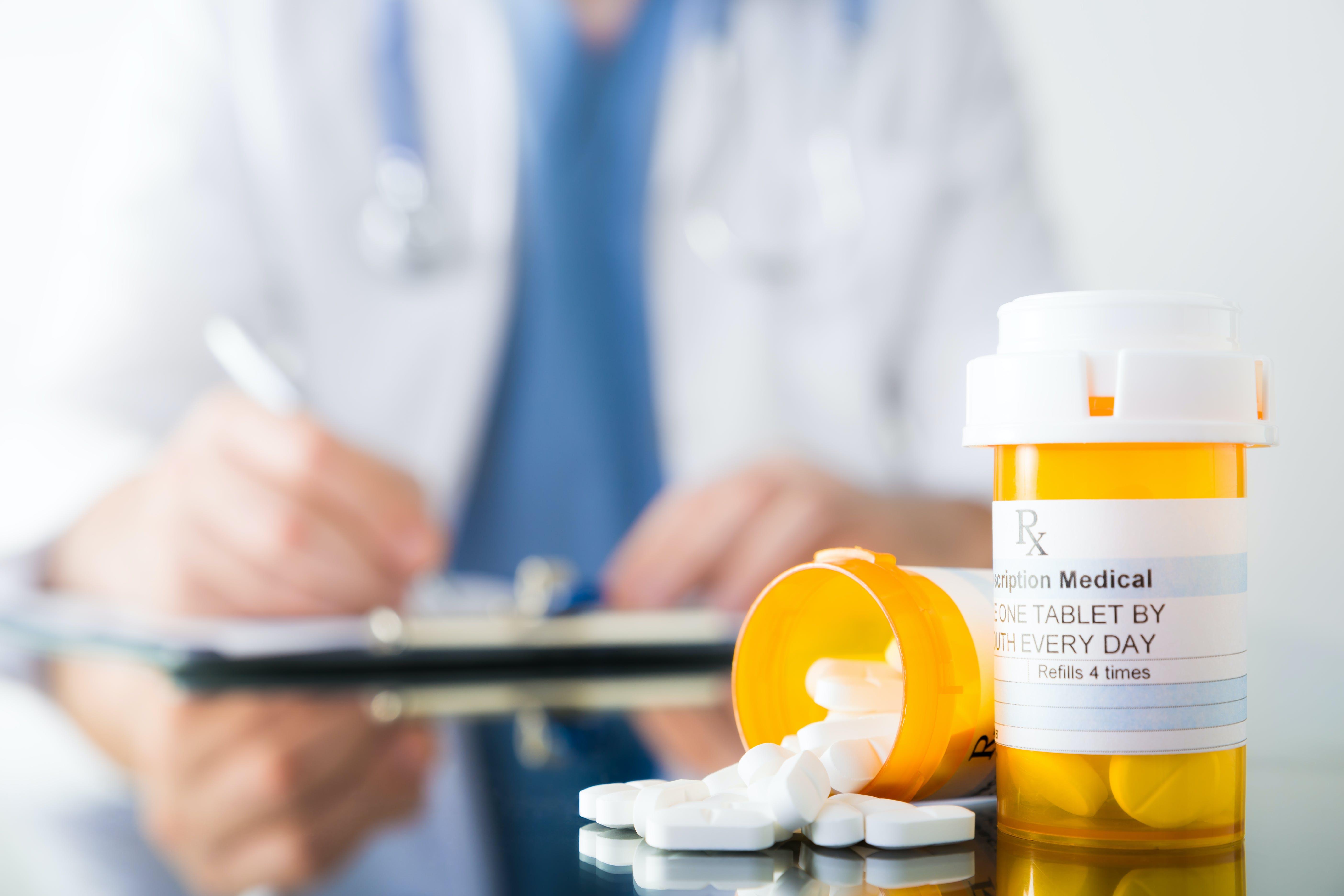 Prescripción de medicamentos
