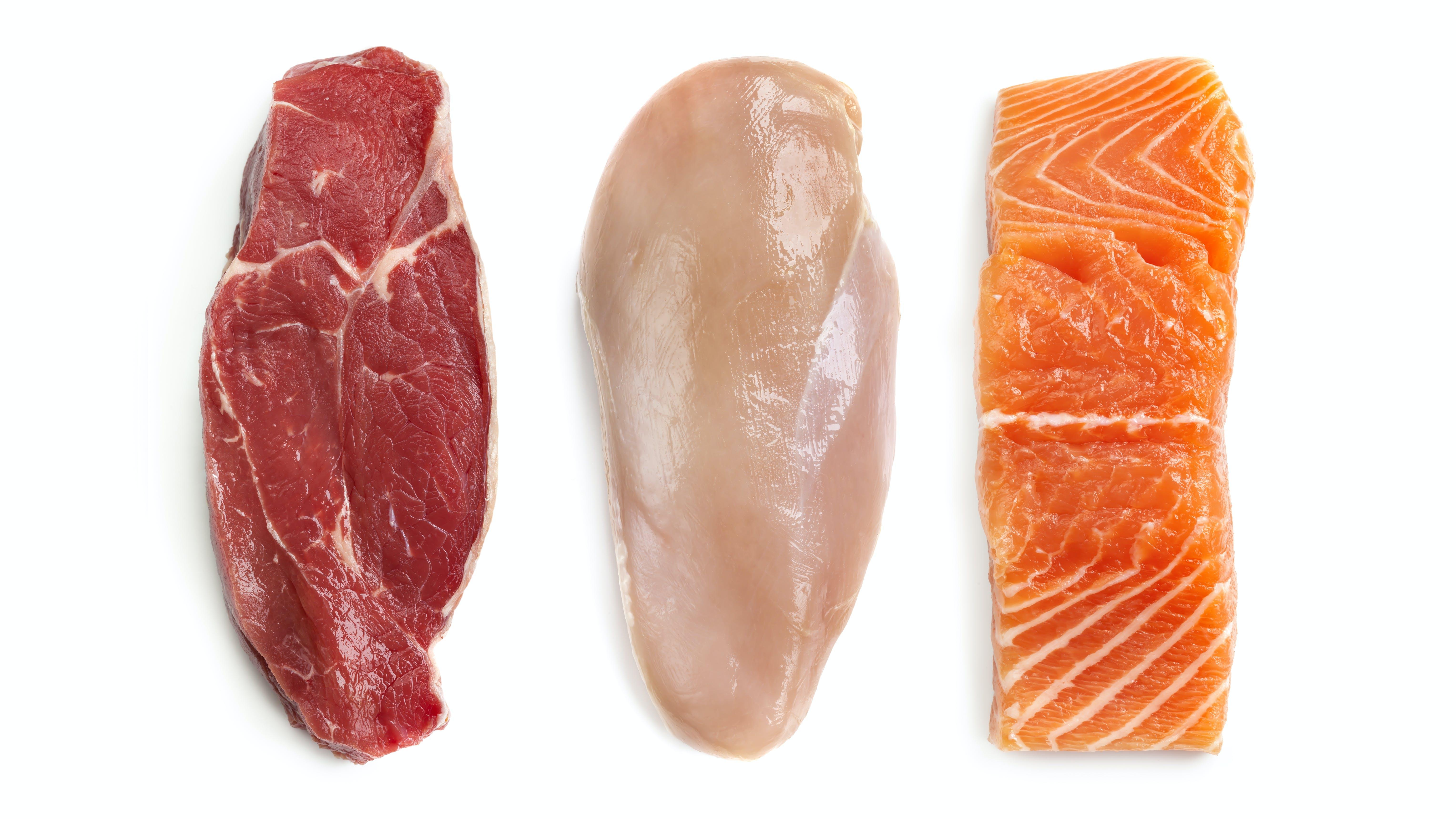 proteína baja en carbohidratos keto