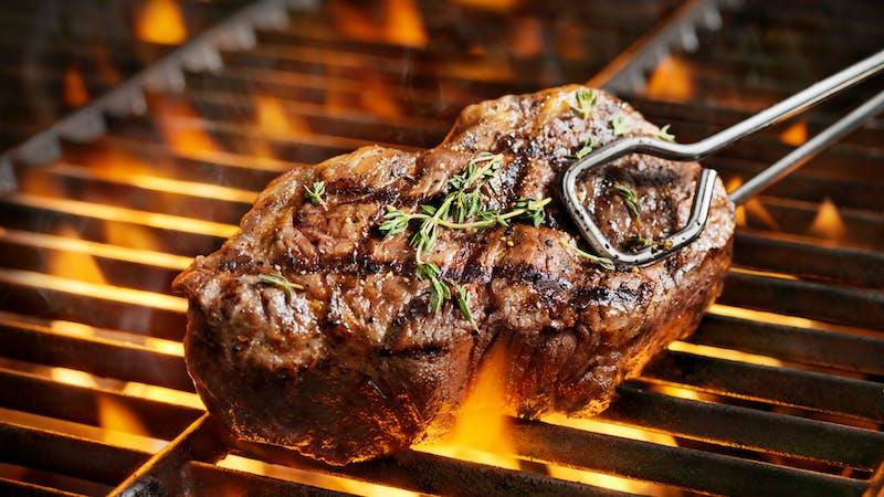 Bistec bueno para la salud