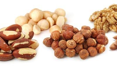 Frutos secos y la dieta cetogénica
