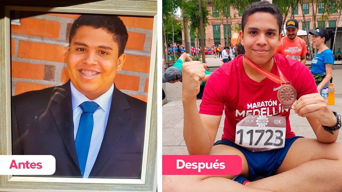 Cómo Javier pasó de ser obeso mórbido a tener una nueva vida