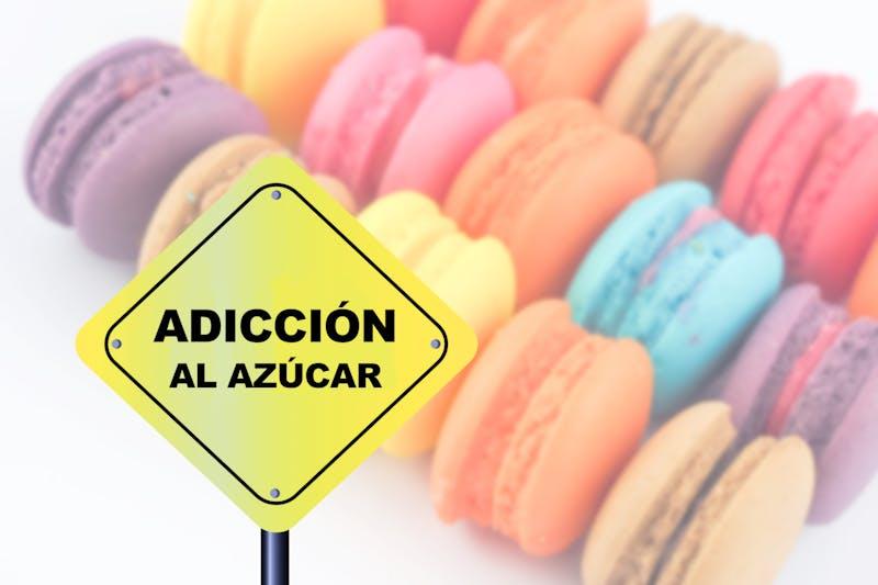 palabras adicción al azúcar sobre macarons