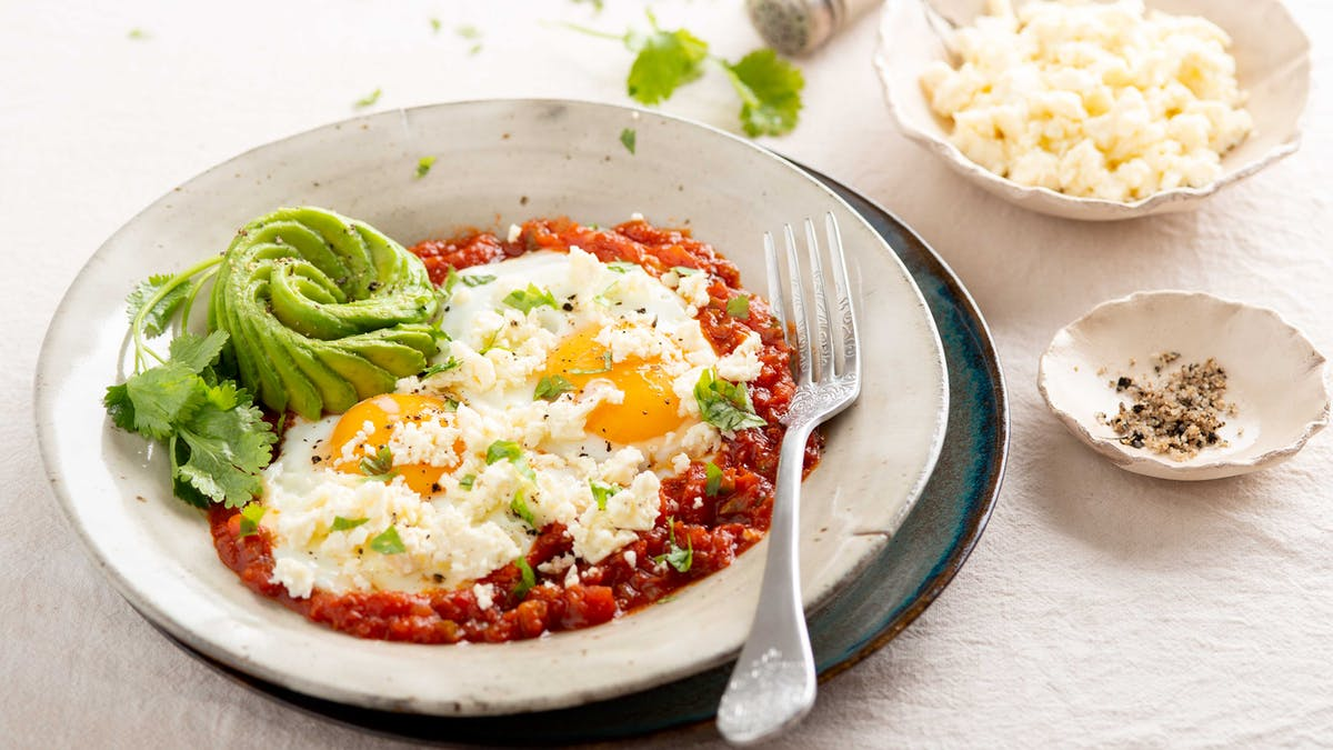 Huevos rancheros low carb