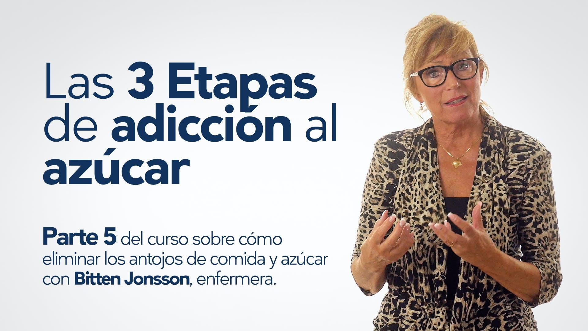 Las tres etapas de la adicción – Bitten Jonsson