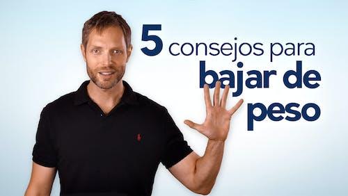 Los mejores 5 consejos para perder peso